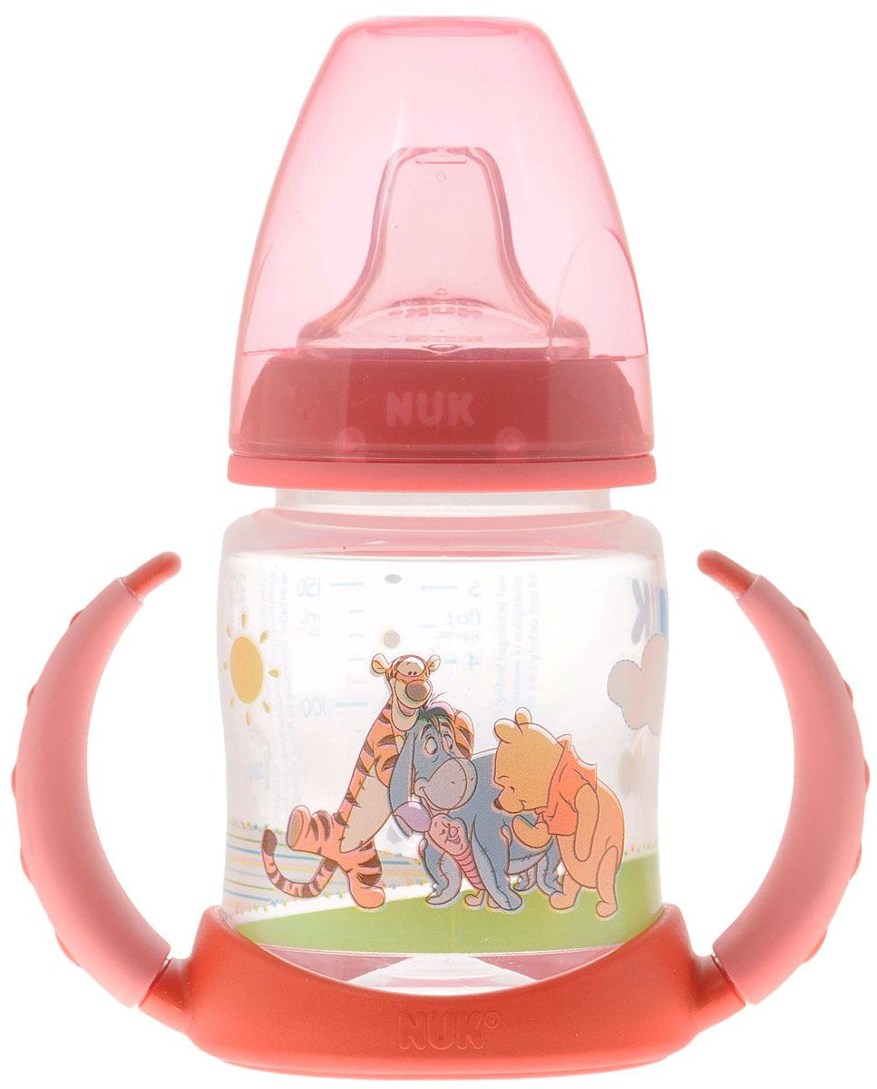 NUK Бутылочка-поильник с силиконовой насадкой Disney First Choice от 6 до 18 месяцев 150 мл