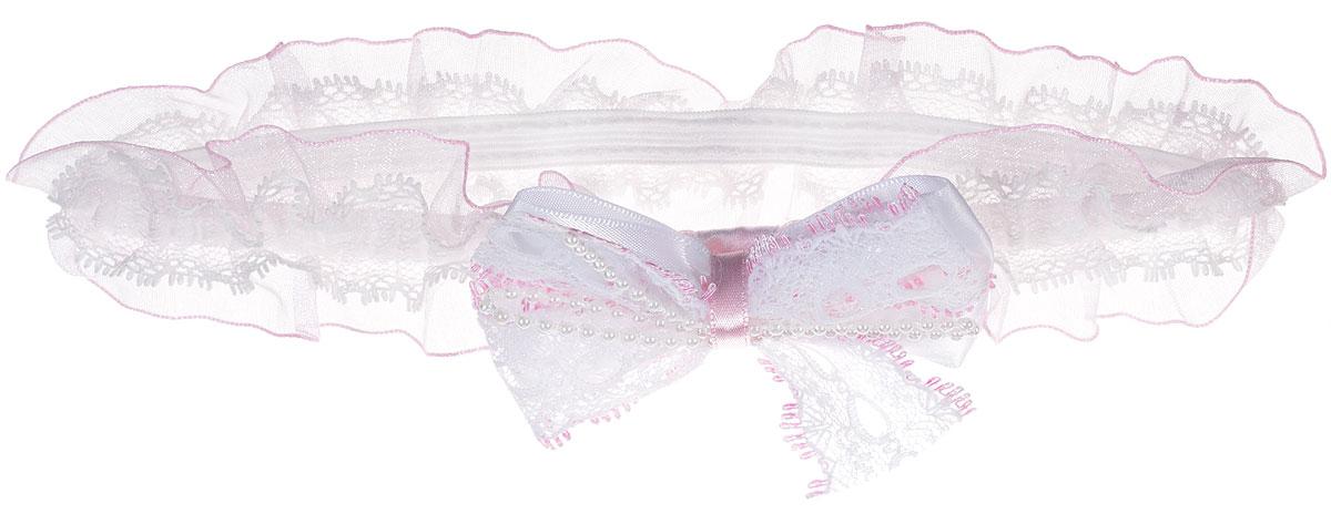 Babys Joy Повязка для волос цвет белый розовый MN 775 - Babys JoyMN 775_ белый, розовый/бусиныПовязка для волос Babys Joy выполнена из текстиля, имеет сетчатую структуру и дополнена бантом белого цвета, украшенного бусинками. Повязка хорошо тянется и позволит убрать непослушные волосы с лица и придать образу немного романтичности и очарования. Повязка для волос Babys Joy подчеркнет уникальность вашей маленькой модницы и станет прекрасным дополнением к ее неповторимому стилю.