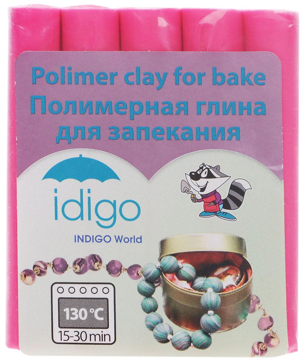 Idigo Полимерная глина цвет фуксия