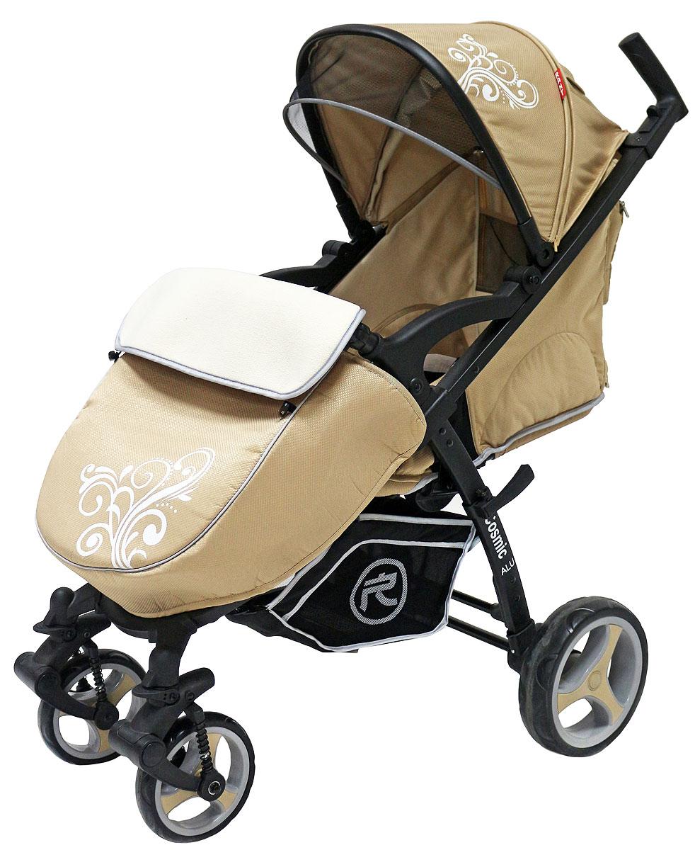 Rant Коляска прогулочная Cosmic цвет бежевый4630008876930Всесезонная прогулочная коляска COSMIC от торговой марки RANT станет незаменимым помощником для родителей малыша с рождения и до 3-х лет. Удобная и функциональная коляска, выполненная в оригинальном стиле и в красочных дизайнерских оттенках. Коляску COSMIC можно использовать как летом, так и зимой. В комплектацию коляски входит конверт-переноска с жёсткой основой для новорожденного малыша, который пригодится в зимние месяцы во время прогулок в коляске на свежем воздухе, походов в поликлинику, магазин или в гости. Конверт-переноска имеет съемный защитный капюшон, защищающий от непогоды, мягкие ручки для переноски. Конверт легко и удобно расстёгивается по бокам, при помощи двух молний для быстрого и удобного доступа к малышу. Поэтому, когда вы со спящим ребенком вернетесь с прогулки, вам совсем необязательно его будить, доставая из конверта, а достаточно расстегнуть молнии по бокам, распахнуть конверт, оставить малыша досыпать и спокойно можно ждать, когда ребенок проснется уже сам. От...