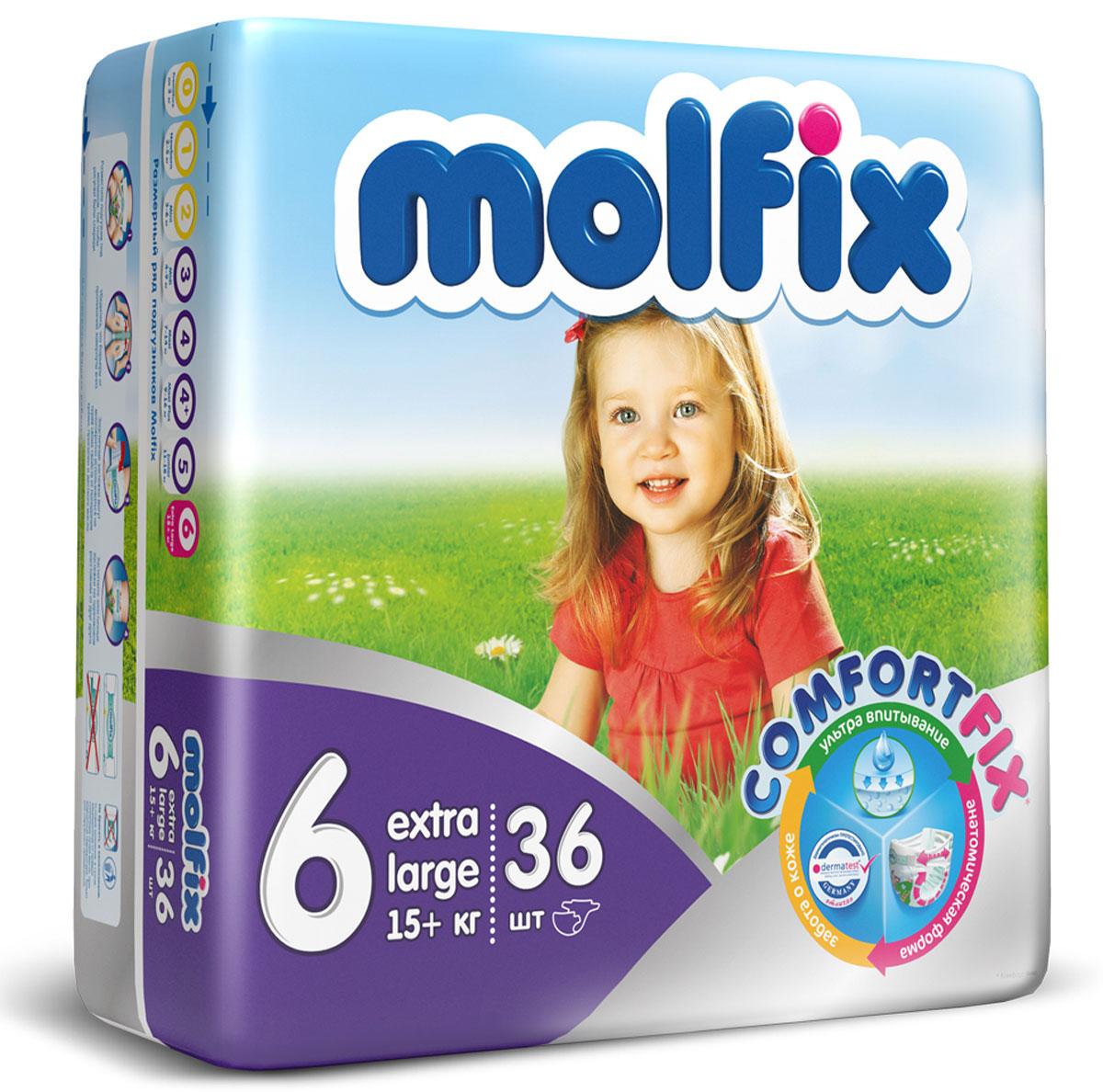 ���������� Molfix Extra Large (16+ ��), 36 ��