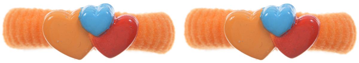 Babys Joy Резинка для волос Сердечки цвет оранжевый 2 штVT 75_оранжевый ( сердца)Резинка для волос Babys Joy Сердечки украшена декоративным элементом в виде сердечек из пластика. Резинка для волос Babys Joy надежно зафиксирует непослушные локоны и подчеркнет красоту прически вашей маленькой принцессы. В упаковке 2 резинки.