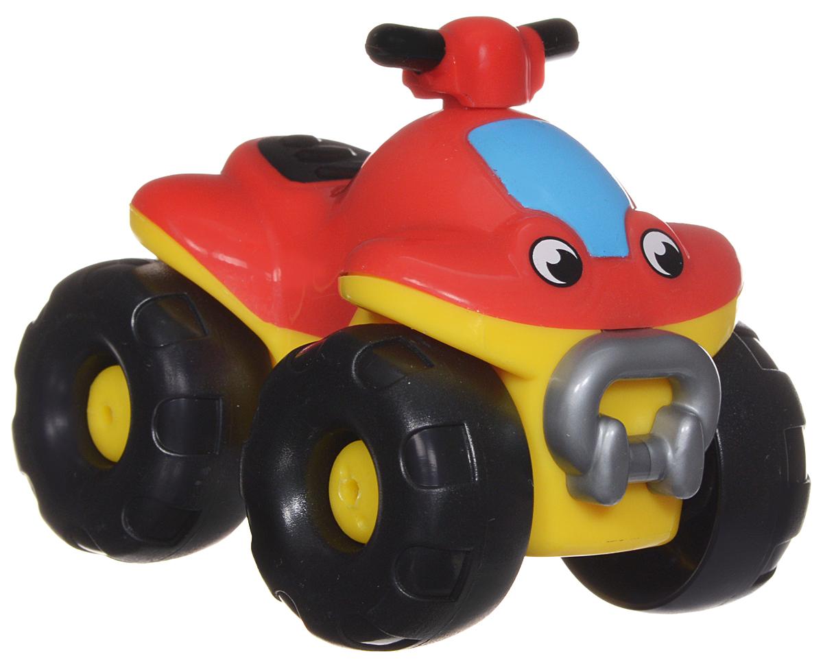 Smoby Мини-джип211098Мини-джип Smoby Vroom Planet непременно привлечет внимание вашего ребенка. Игрушка выполнена из абсолютно безопасного для малыша высококачественного пластика. Игрушка яркой расцветки с большими колесами и нарисованными глазками. Колеса машинки крутятся, поэтому она легко катается по ровной поверхности. Игра с машинкой помогает развивать мелкую моторику, цветовое восприятие, координацию движений, а также являются хорошим средством для развлечения ребенка. Порадуйте своего малыша таким замечательным подарком.