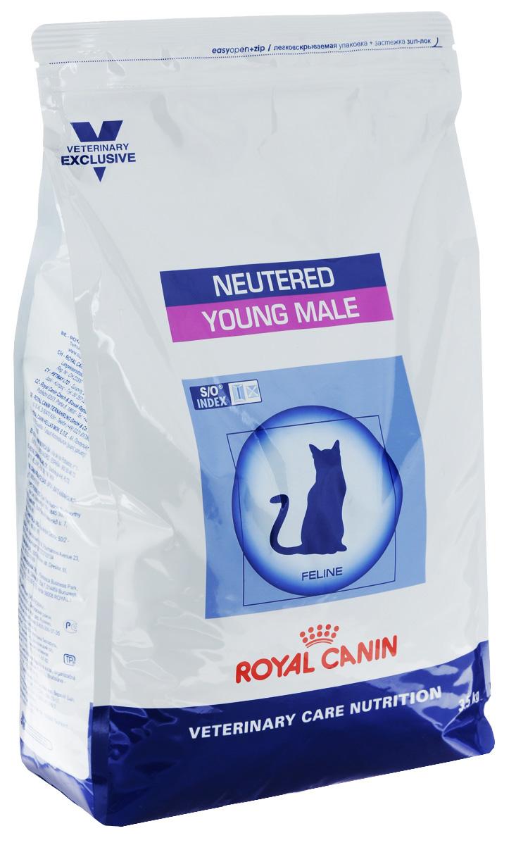 Корм сухой Royal Canin Young Male для кастрированных котов с момента операции до 7 лет, 3,5 кг60695Royal Canin Young Male - полнорационный сухой корм для кастрированных котов с момента операции до 7 лет. Оптимальный вес: - обогащенная белками формула способствует лучшему поддержанию мышечного тонуса по сравнению с обычным режимом питания, повышению вкусовых качеств корма. При одном и том же уровне метаболизма белки дают на 30% меньше чистой энергии, чем углеводы. L-карнитин улучшает транспорт жирных кислот в митохондрии. Умеренное содержание крахмала: - пониженный уровень крахмала и, соответственно, энергии позволяет не набирать лишний вес и уменьшает риск развития диабета. S/O Index : Знак S/O Index на упаковке означает, что диета предназначена для создания в мочевыделительной системе среды, неблагоприятной для образования кристаллов оксалата кальция. Состав: рис, дегидратированные белки животного происхождения (птица), изолят растительных белков, растительная клетчатка, гидролизат белков животного ...