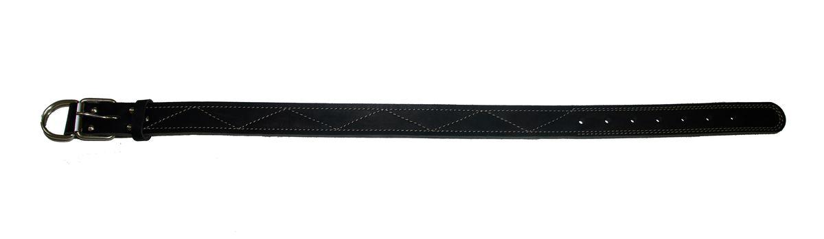 Ошейник Аркон Стандарт, цвет: черный, ширина 3,5 см, длина 86 смо35/3дчОшейник Аркон Стандарт изготовлен из кожи, устойчивой к влажности и перепадам температур. Клеевой слой, сверхпрочные нити, крепкие металлические элементы делают ошейник надежным и долговечным. Изделие отличается высоким качеством, удобством и универсальностью. Размер ошейника регулируется при помощи пряжки, зафиксированной на одном из 7 отверстий. Минимальный обхват шеи: 63 см. Максимальный обхват шеи: 80 см. Ширина: 3,5 см.
