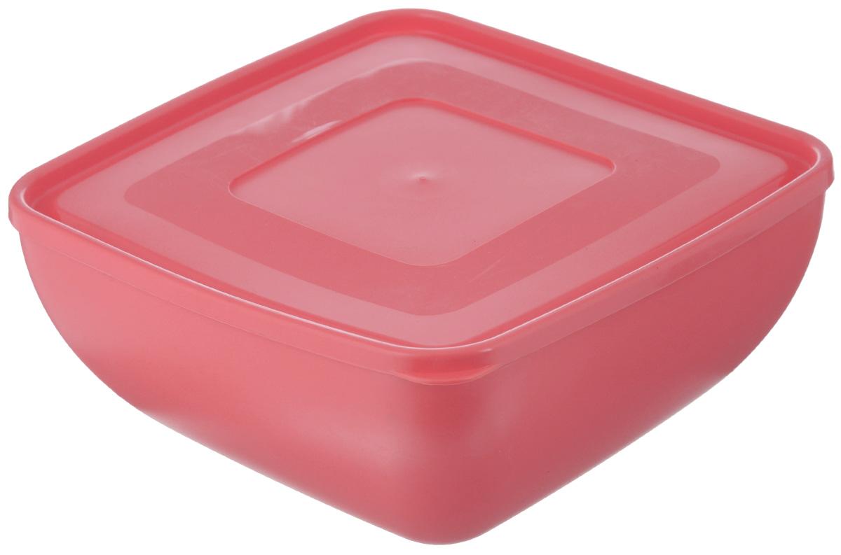 Салатник Ucsan, квадратный, с крышкой, цвет: коралловый, 4 лM-657_коралловыйКвадратный салатник Ucsan изготовлен из полипропилена и идеально подходит для сервировки стола. В комплекте имеется крышка. Салатник Ucsan не только украсит ваш кухонный стол и подчеркнет прекрасный вкус хозяйки, но и станет отличным подарком. Размер салатника по верхнему краю (без учета крышки): 23 х 23 см. Высота салатника (без учета крышки): 11,5 см.