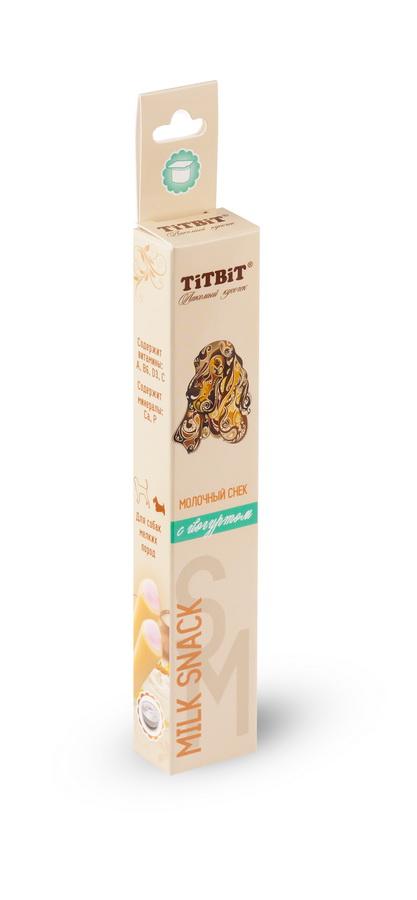 Лакомство для мелких собак Titbit, молочный снек с йогуртом4586Молочный снек с йогуртом - это вкусное и полезное лакомство для собак. Натуральная молочная начинка придает снеку непревзойденный вкус и аромат, а благодаря специально разработанной текстуре, снек эффективно удаляет мягкий зубной налет. Состав: Рис, йогурт сублимированный, клетчатка, лецитин, минеральный комплекс, натуральные ароматизаторы, натуральные красители, витамины А, В6, D3, С