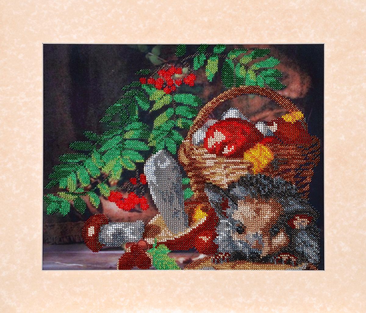 Набор для вышивания бисером Hobby & Pro Дары осени, 31 x 25 см581741