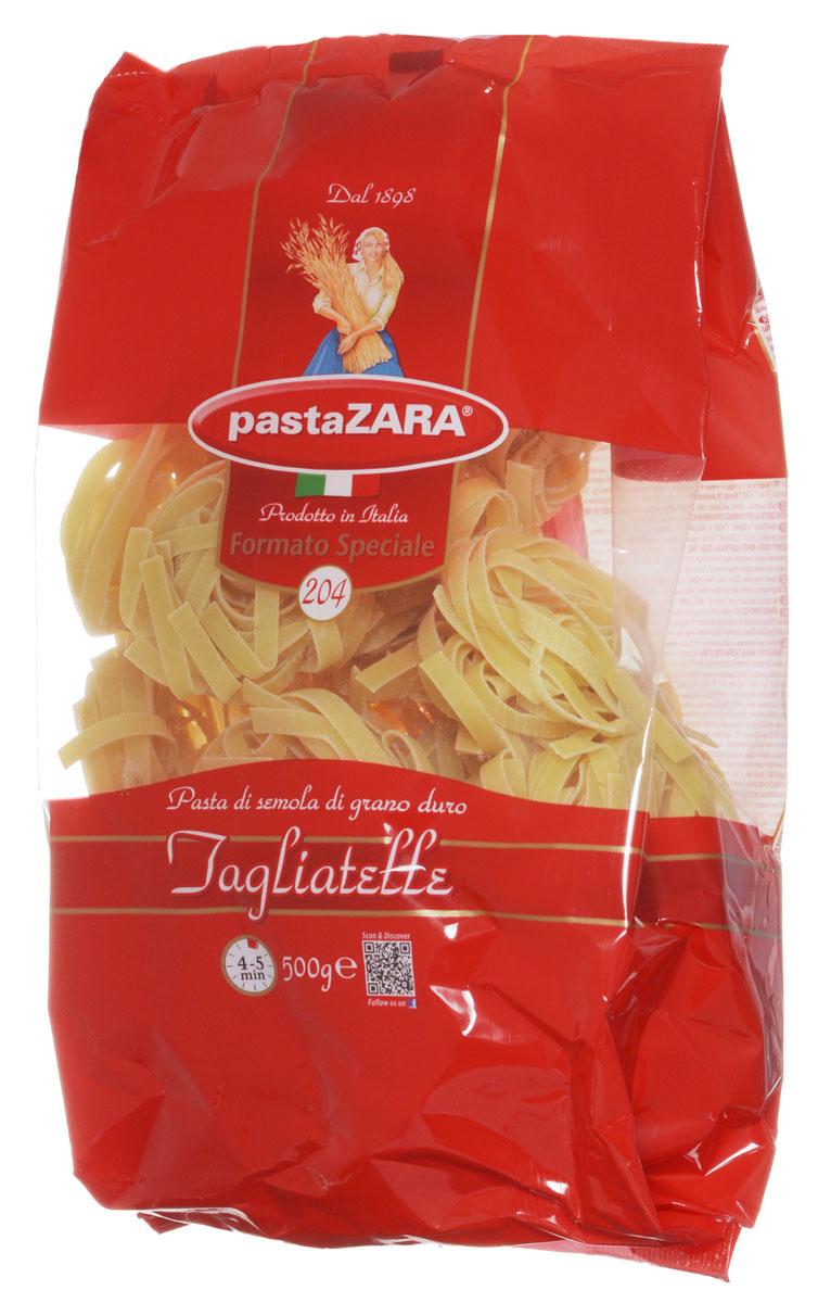 Pasta Zara Клубки средние тальятелле макароны, 500 г 8004350131041