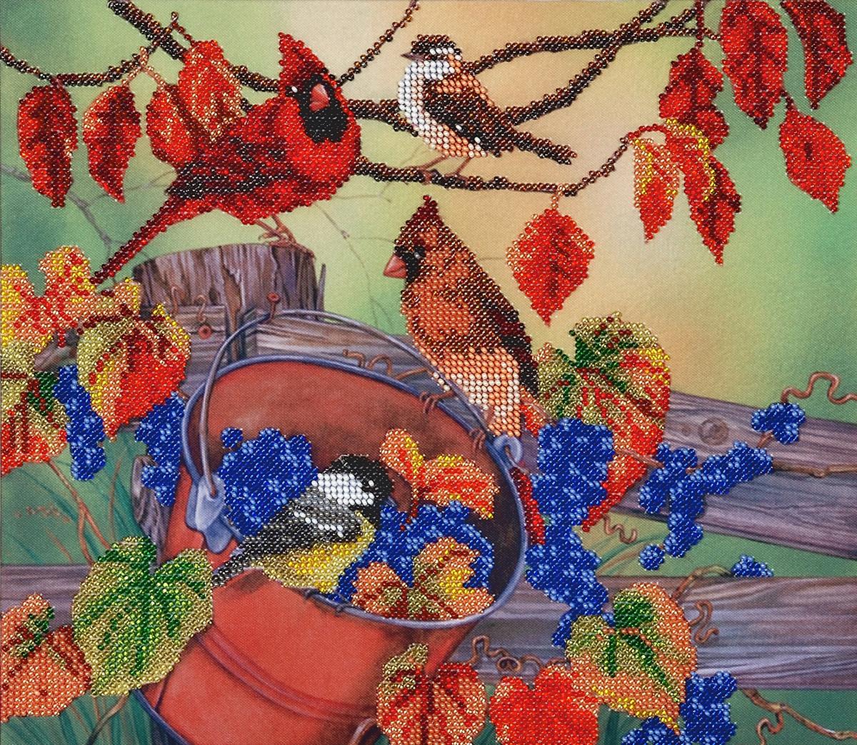 Канва для вышивания бисером Hobby&Pro Щедрый урожай, 30 x 26 см486765