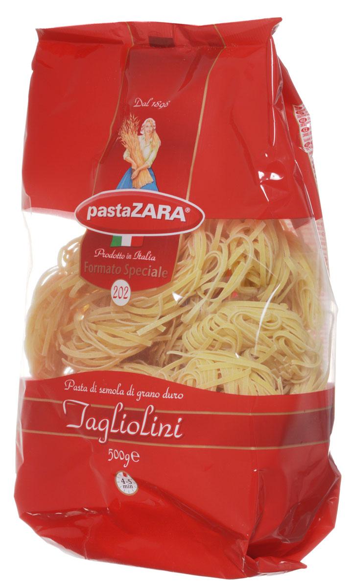 Pasta Zara Клубки тонкие тальолини макароны, 500 г