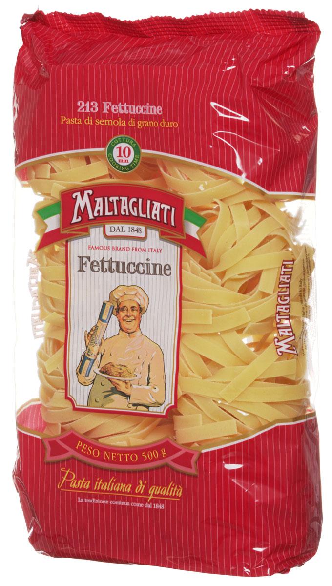 Maltagliati Fettuccine Клубки лапша макароны, 500 г8001810903637Макаронные изделия Maltagliati Fettuccine Клубки производятся в Италии в Тоскане с 1848 года. Несмотря на то, что Maltagliati — это имя собственное, с начала прошлого века Maltagliati используется в Италии как нарицательное имя для домашней лапши и/или формата макаронных изделий, похожих на домашнюю лапшу. Макаронные изделия Maltagliati (Мальтальяти), с изображением итальянского повара — самые известные итальянские макаронные изделия на территории Российской Федерации и, вероятно, всего бывшего СССР. Эти изделия из твердых сортов пшеницы зарекомендовали себя как отличная основа для различных блюд. Они безусловно придутся по вкусу самым требовательным гурманам! Необычная форма придаст особую изюминку вашим кулинарным шедеврам.