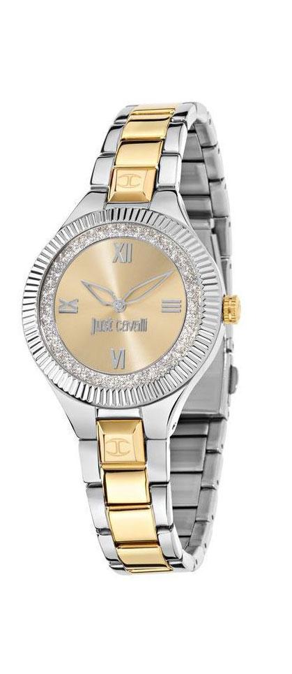Часы наручные женские Just Cavalli Just indie, цвет: серебристый, золото. R7253215506R7253215506ПВД покрытие золотом