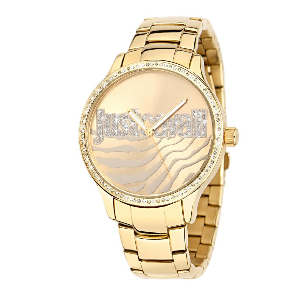 Часы наручные женские Just Cavalli Huge, цвет: золотой. R7253127508R7253127508