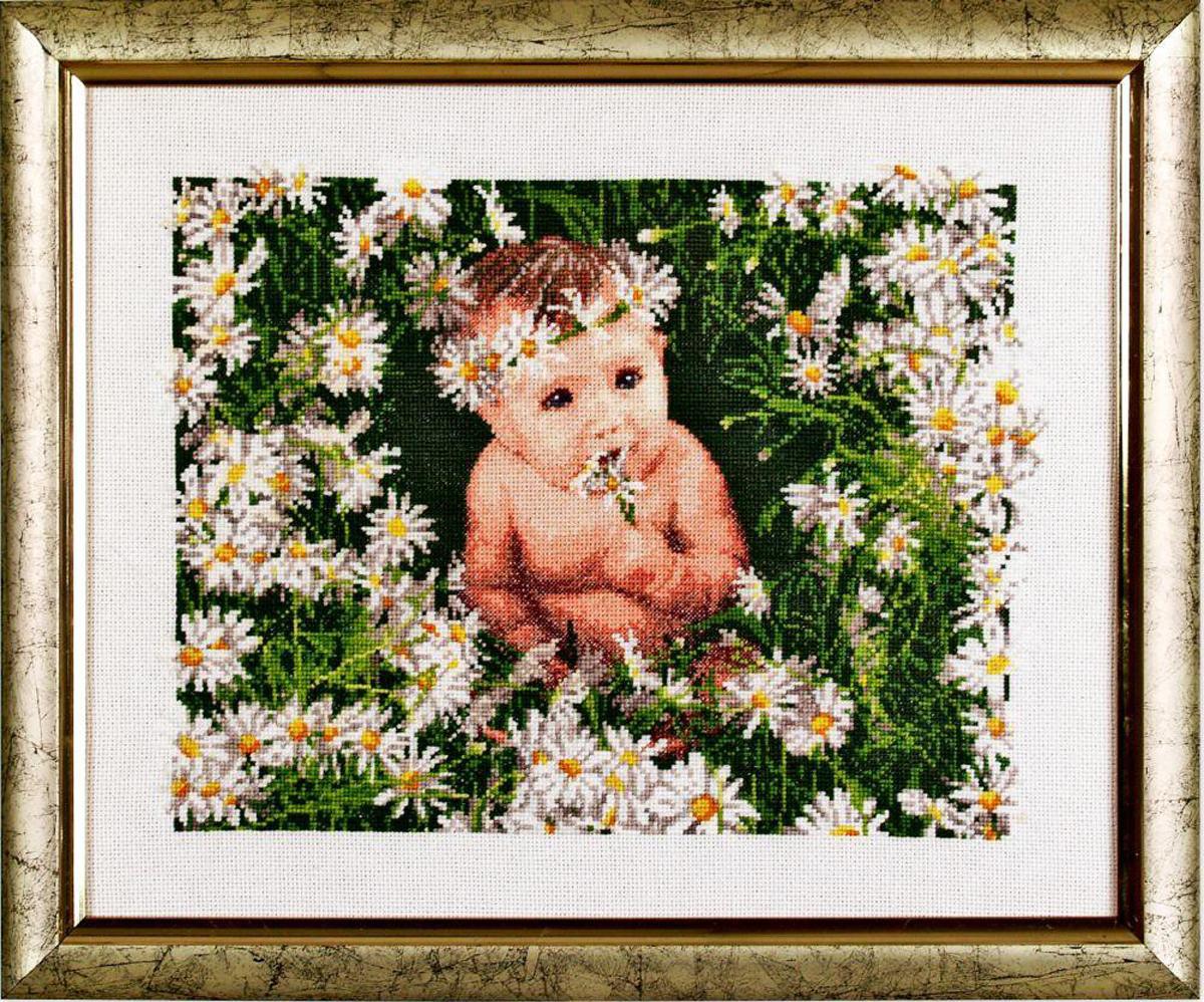Набор для вышивания Alisena В ромашках, 30 x 23 см383037