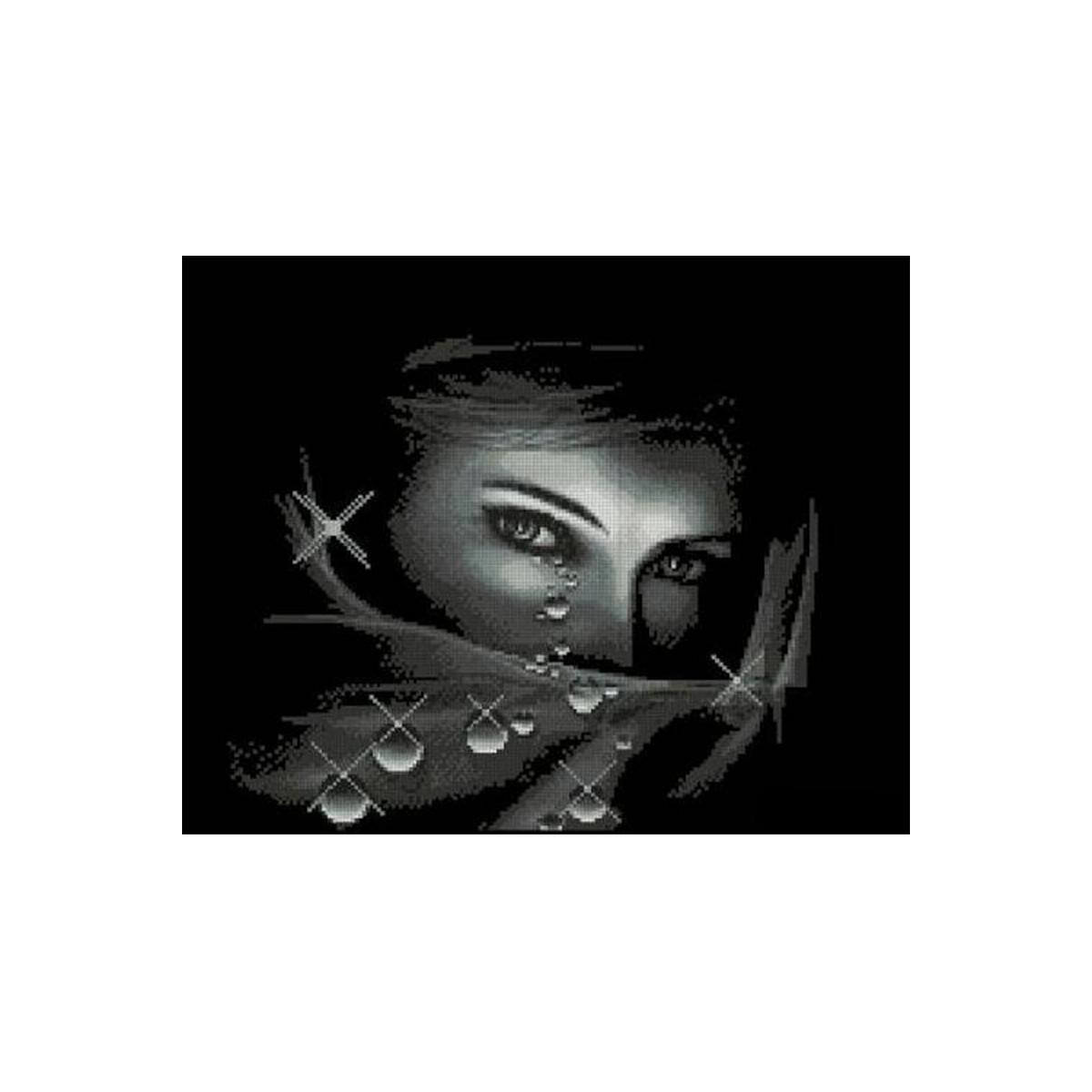 Набор для вышивания Alisena Взгляд, 24 x 21 см383105