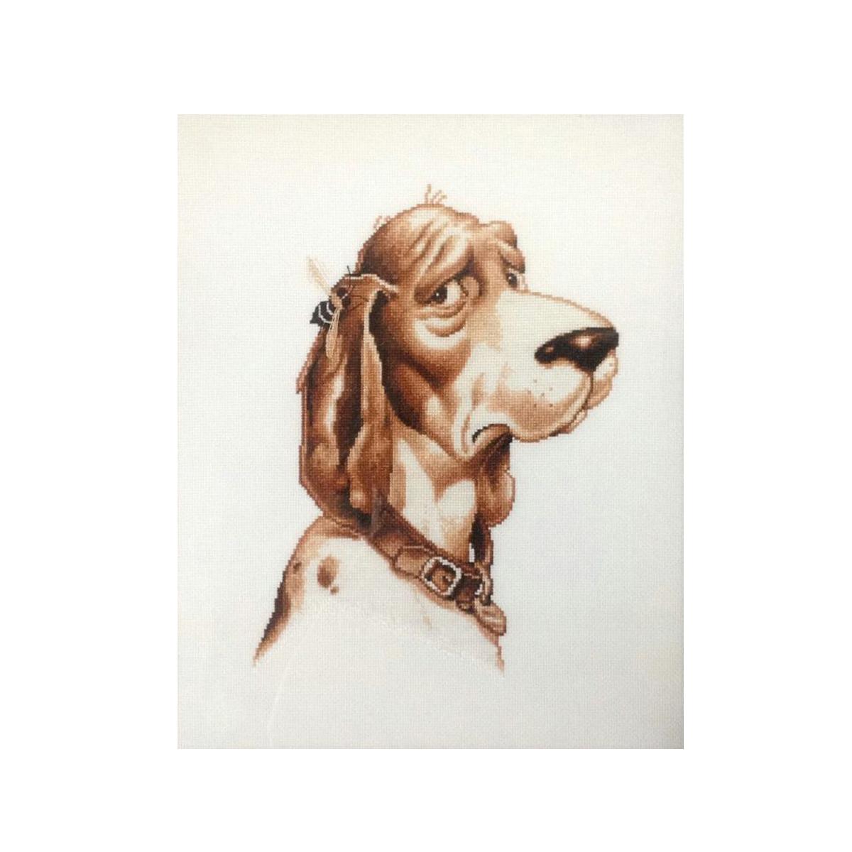 Набор для вышивания Alisena Собака, 21 x 27 см383108