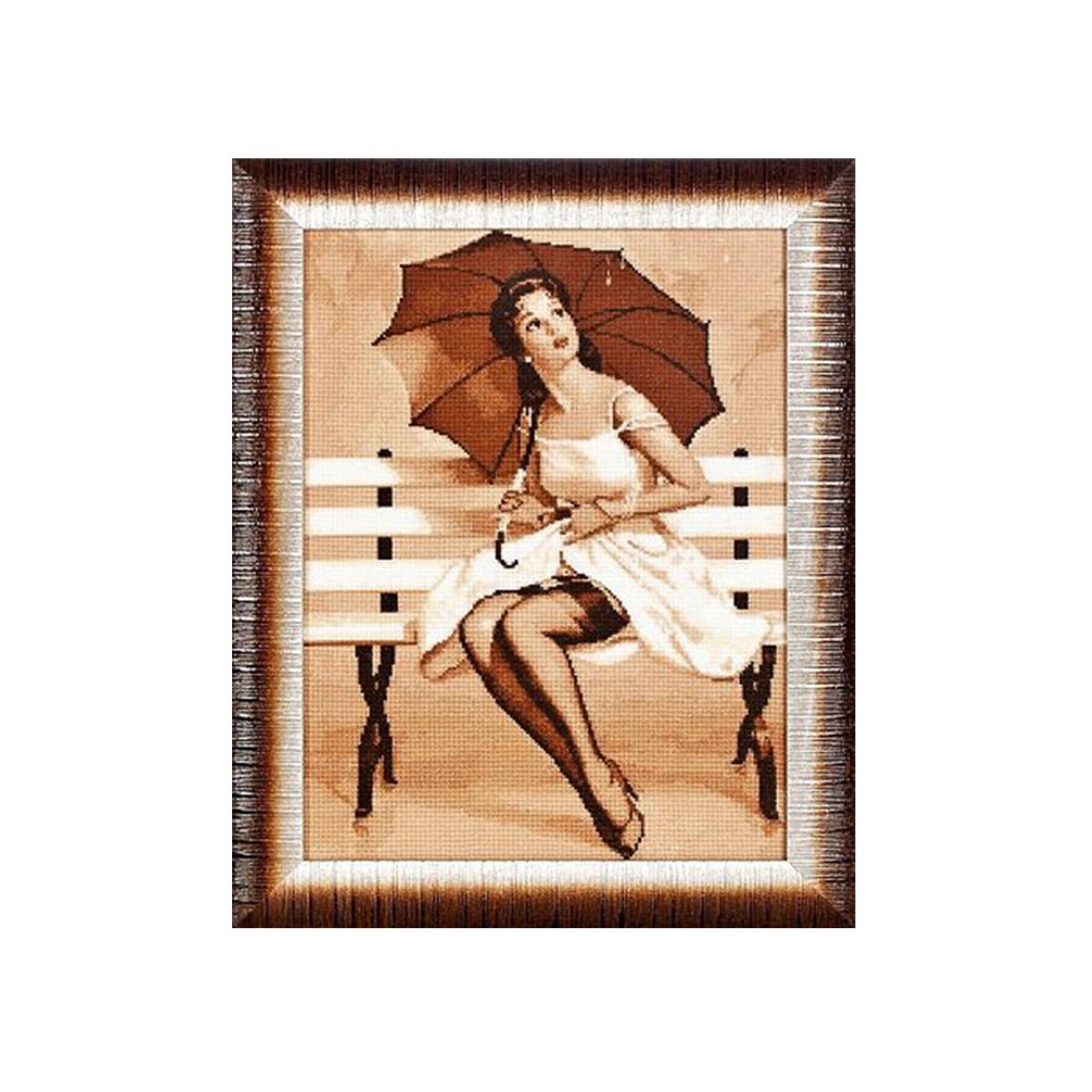 Набор для вышивания Alisena Дождь, 27 x 35 см383127