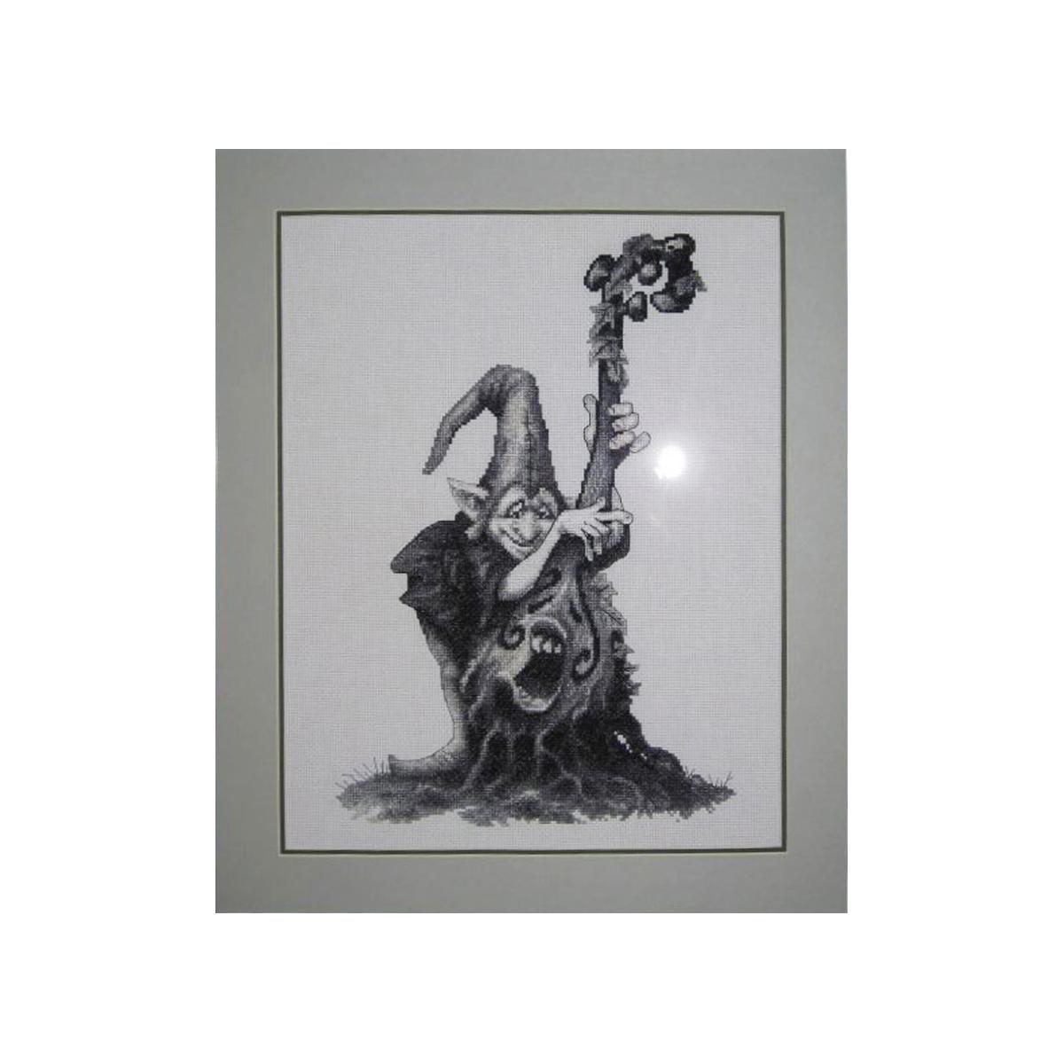Набор для вышивания Alisena Гном музыкант, 21 x 29 см383129
