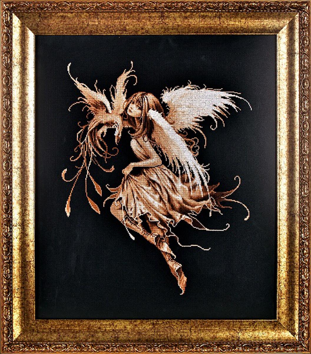 Набор для вышивания Alisena Фея на черном, 34 x 42 см383170