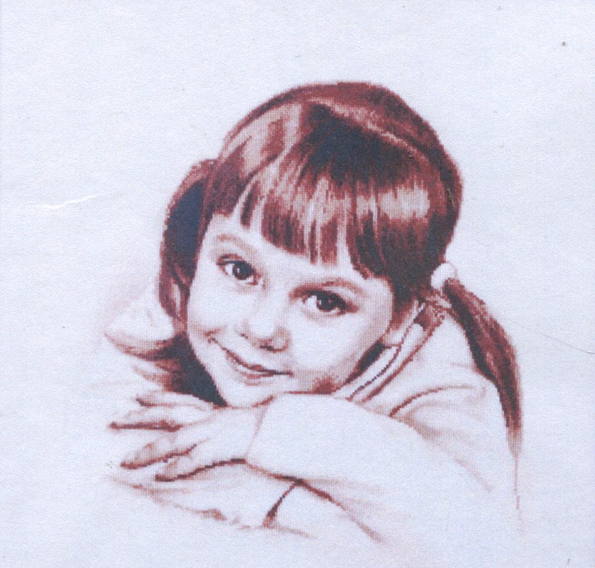 Набор для вышивания Alisena Улыбнись, 34 x 31 см383200