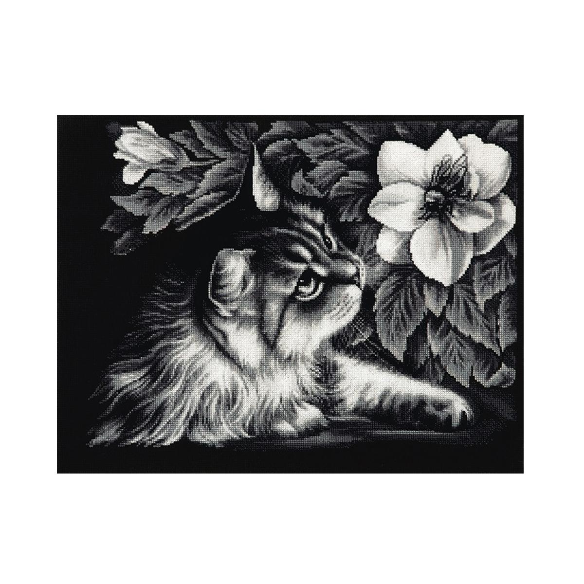 Набор для вышивания Alisena Знакомство, 36 x 27 см484237