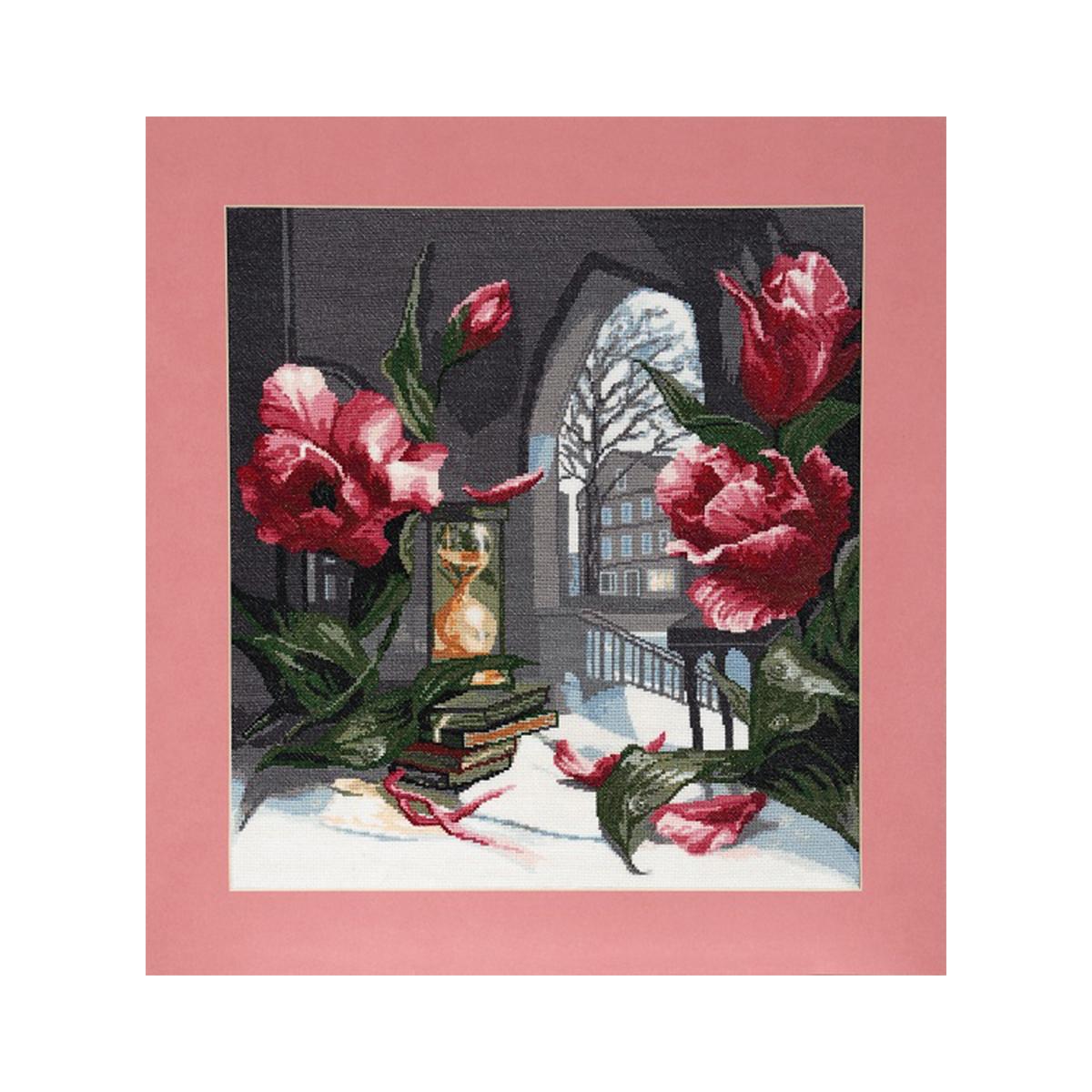 Набор для вышивания Alisena Песочные часы, 37 x 40 см486095