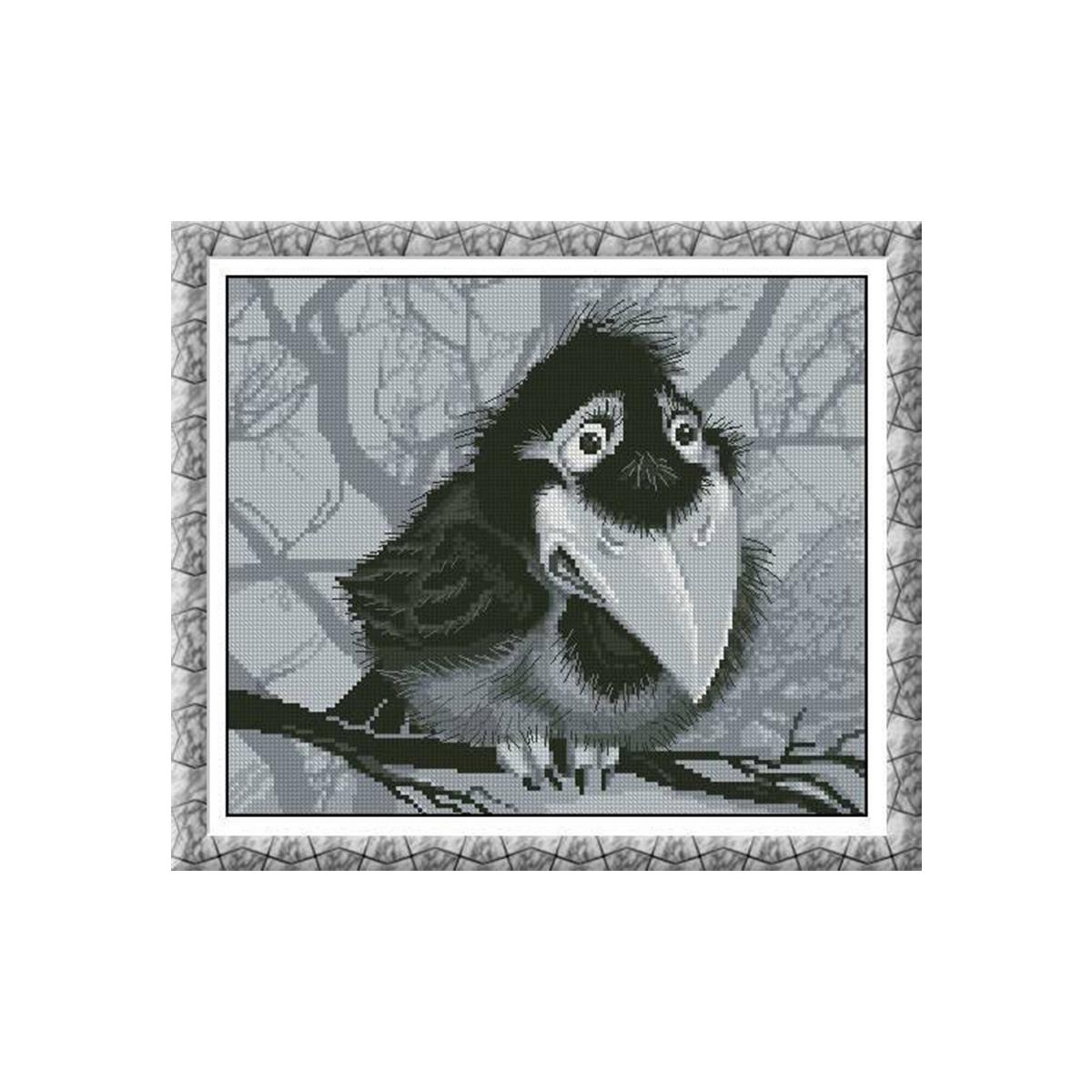 Набор для вышивания Alisena Вороненок, 22 x 19 см486097