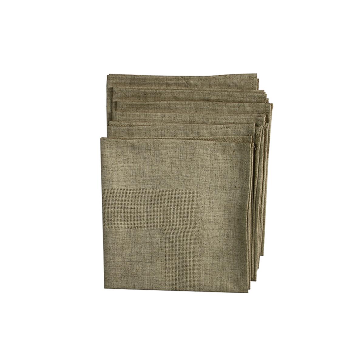 Салфетка лен Alisena 36 x 36 см 6шт в упаковке486099