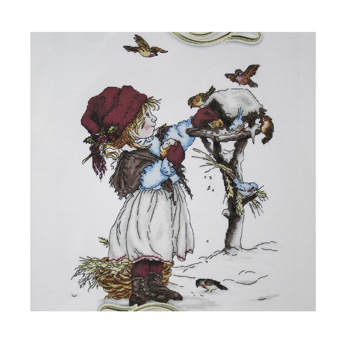 Набор для вышивания Alisena Щедрое угощение, 34 x 27 см486987