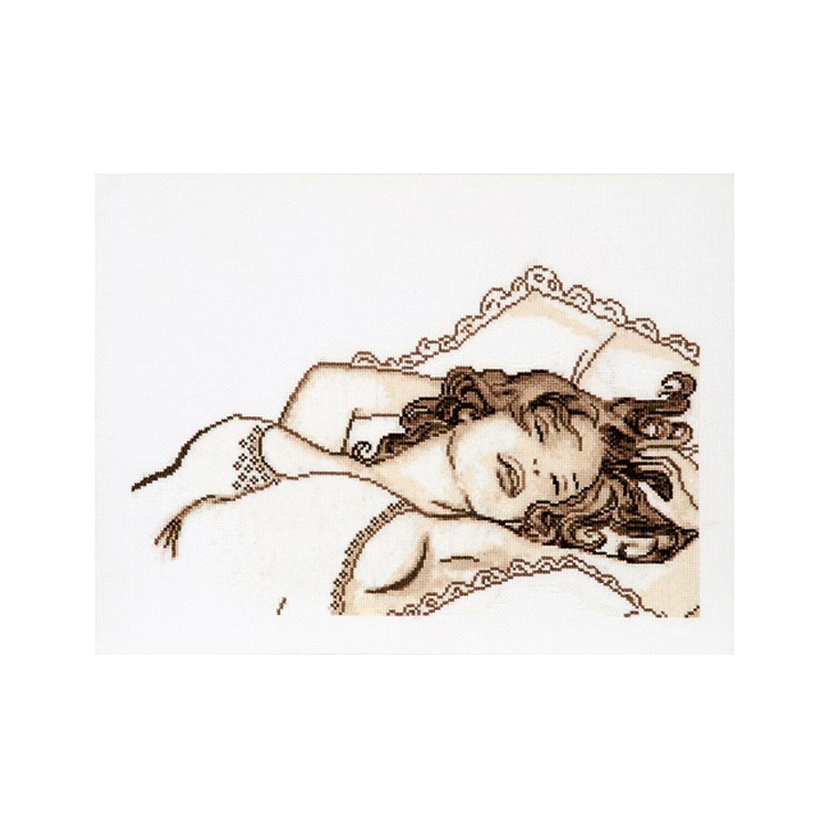 Набор для вышивания Alisena Сон, 31 x 19 см488076