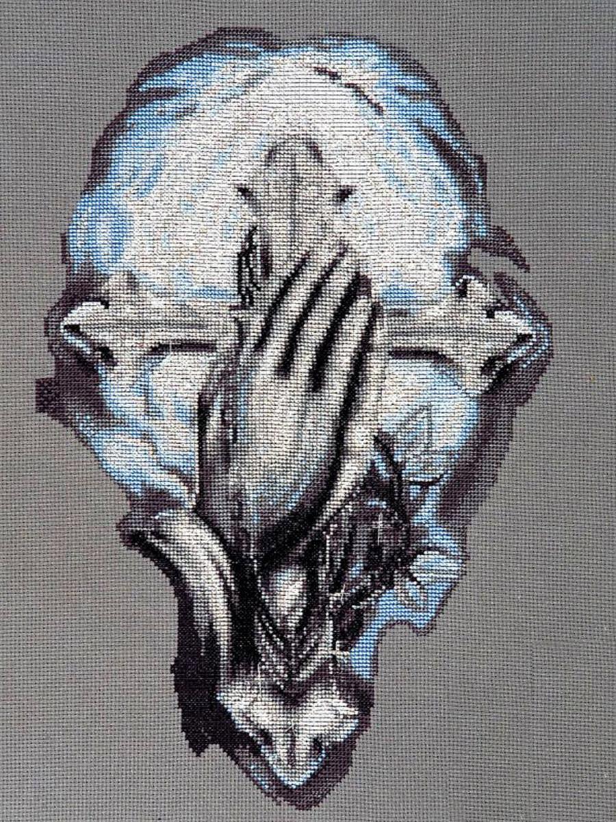 Набор для вышивания Alisena Молитва о благе, 20 x 30 см488078