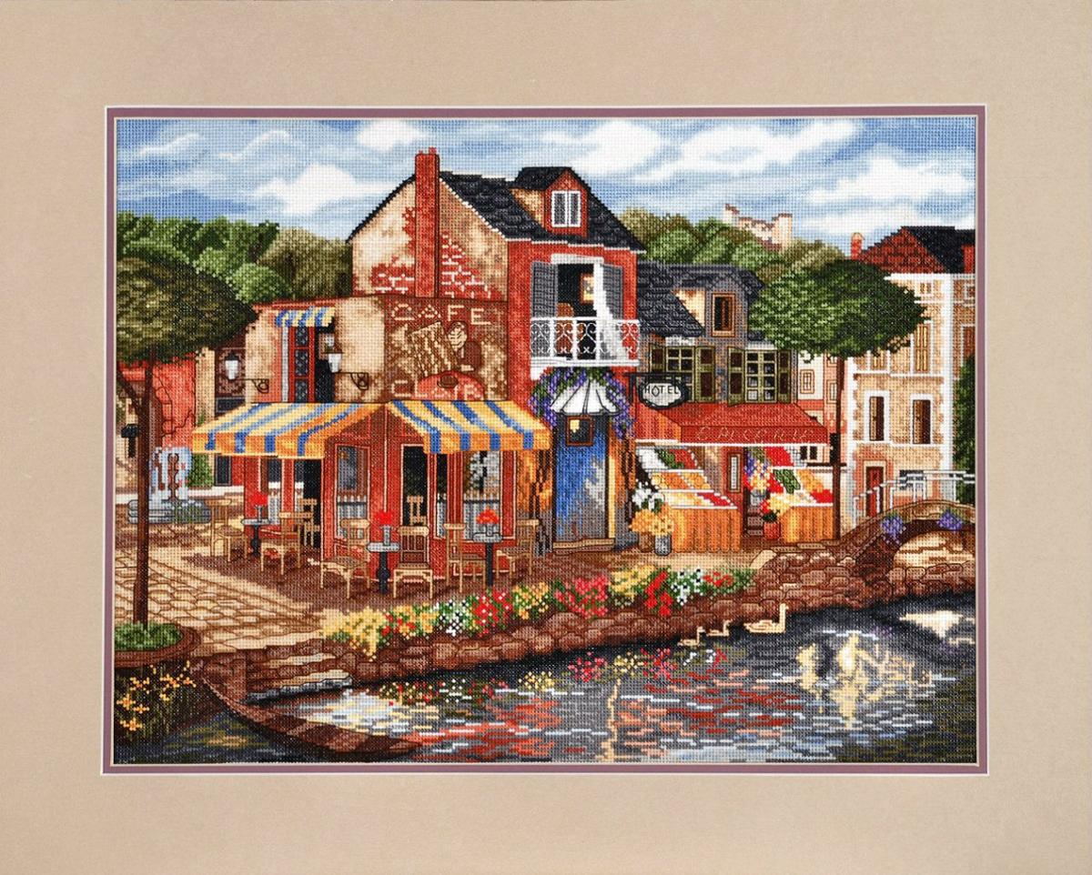 Набор для вышивания Alisena Город, 40 x 31 см547777