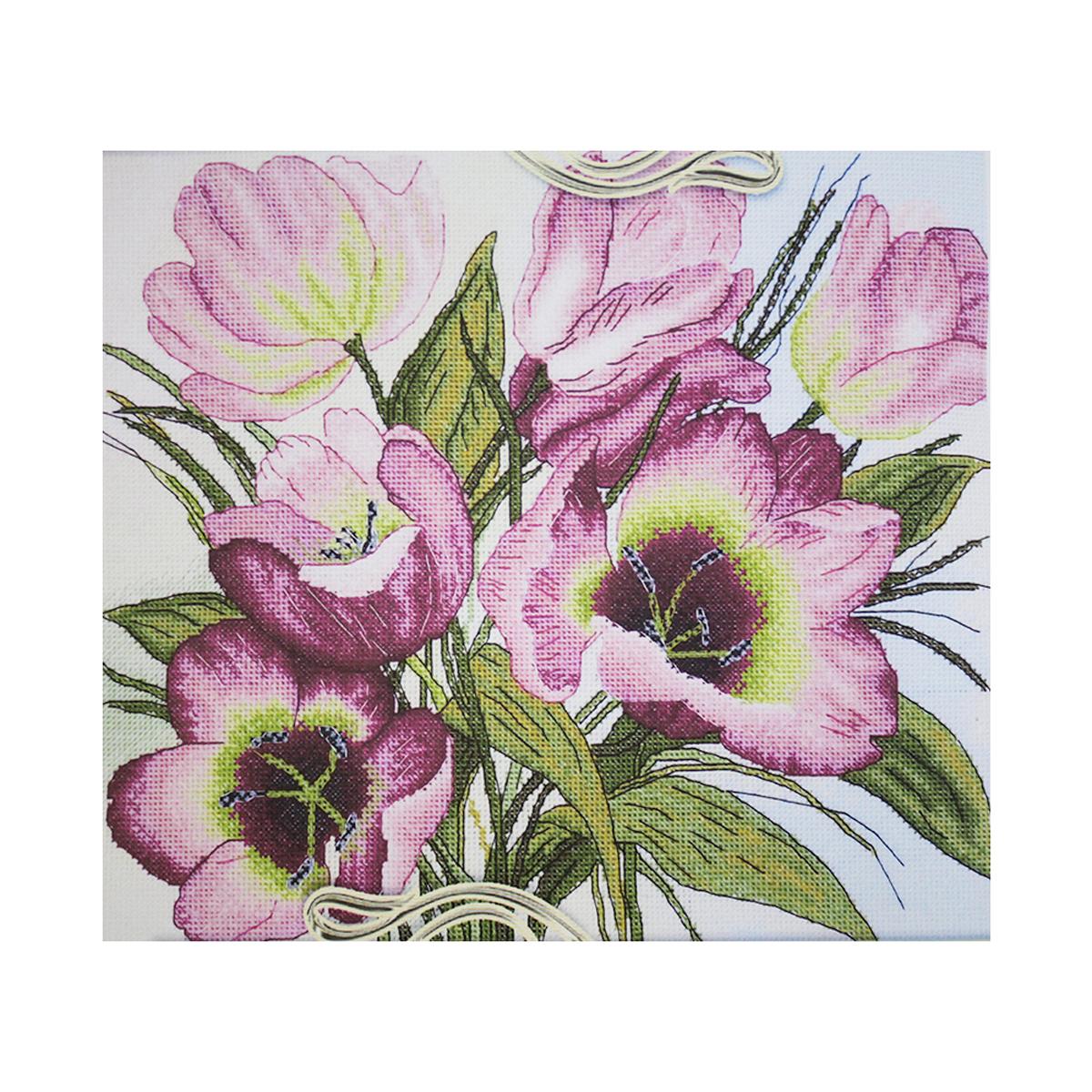 Набор для вышивания Alisena Тюльпаны, 24 x 27 см549781