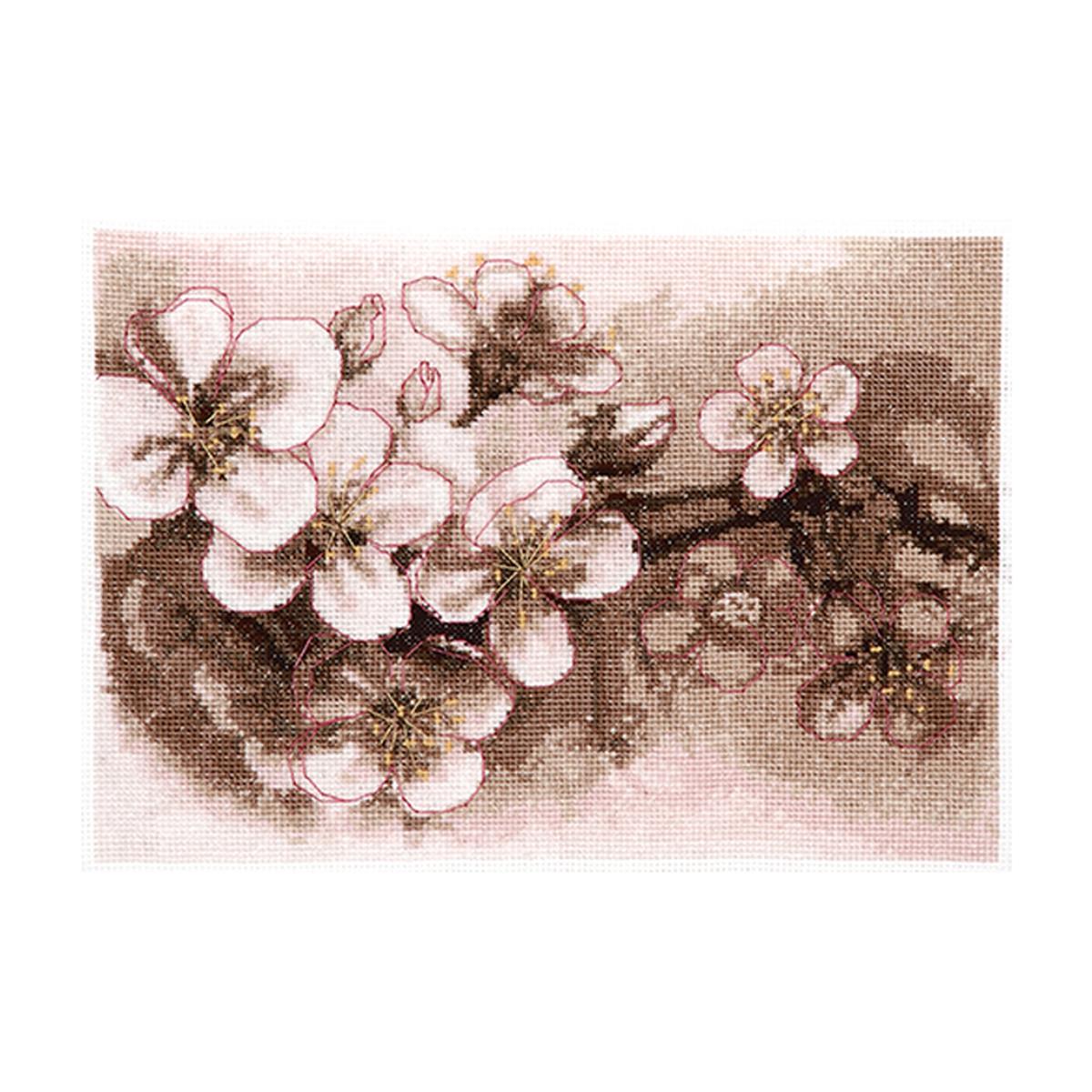 Набор для вышивания Alisena Цвет яблони549782