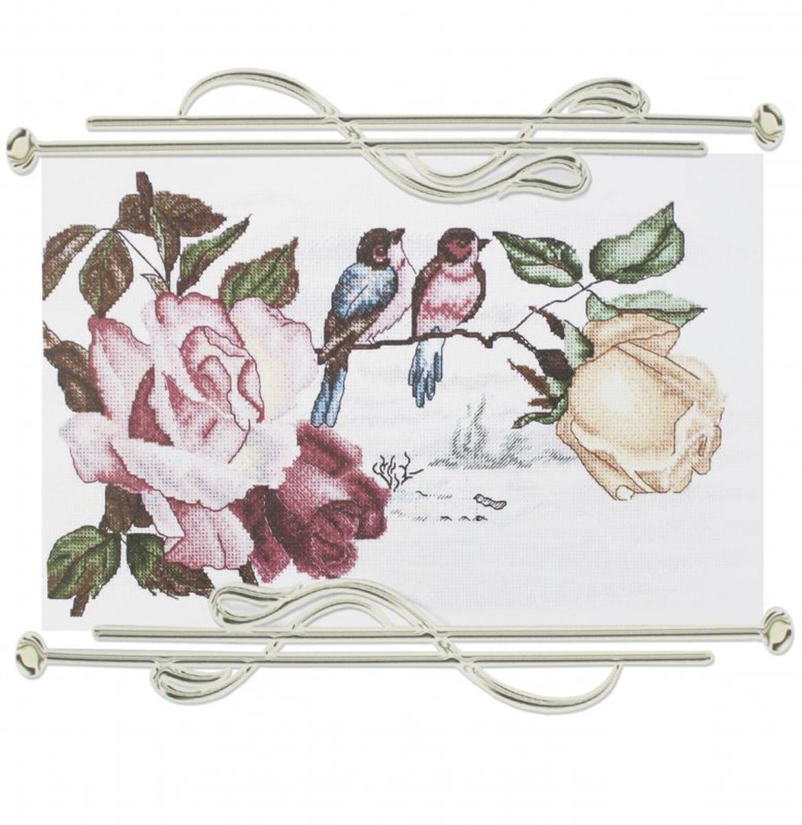 Набор для вышивания Alisena Роза и птицы549787