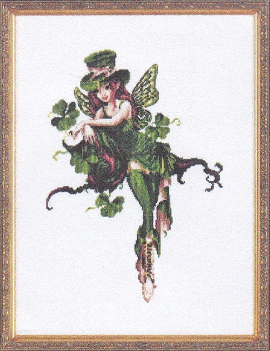 Набор для вышивания Alisena Фейри в зеленом, 31 x 22 см688801