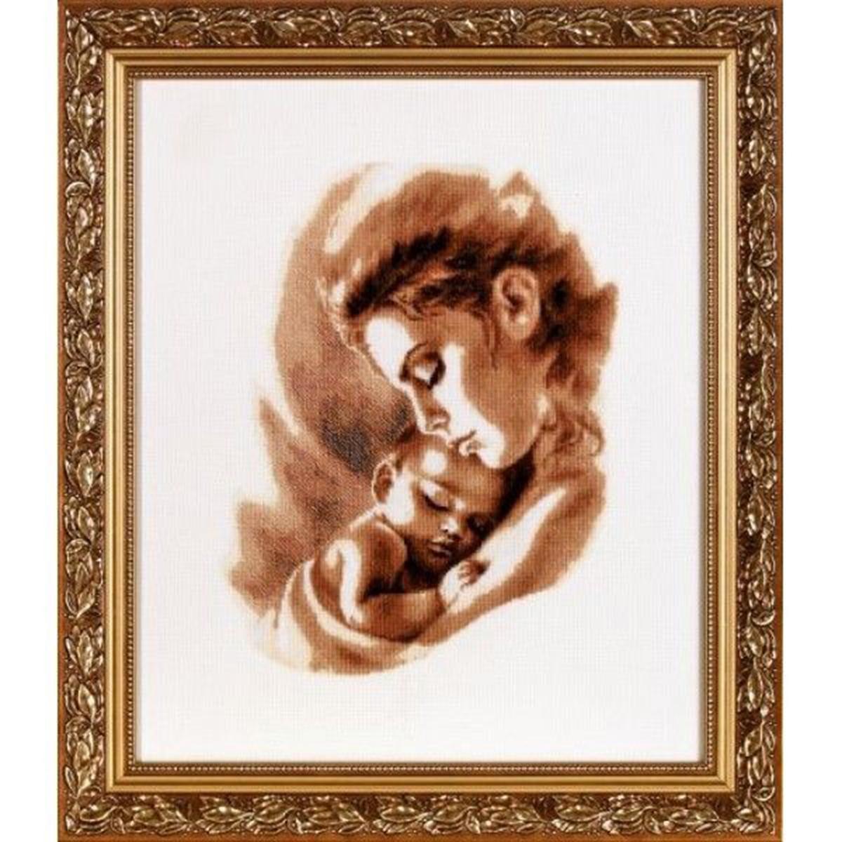 Набор для вышивания Alisena Мадонна с младенцем 2, 23 x 30 см688804