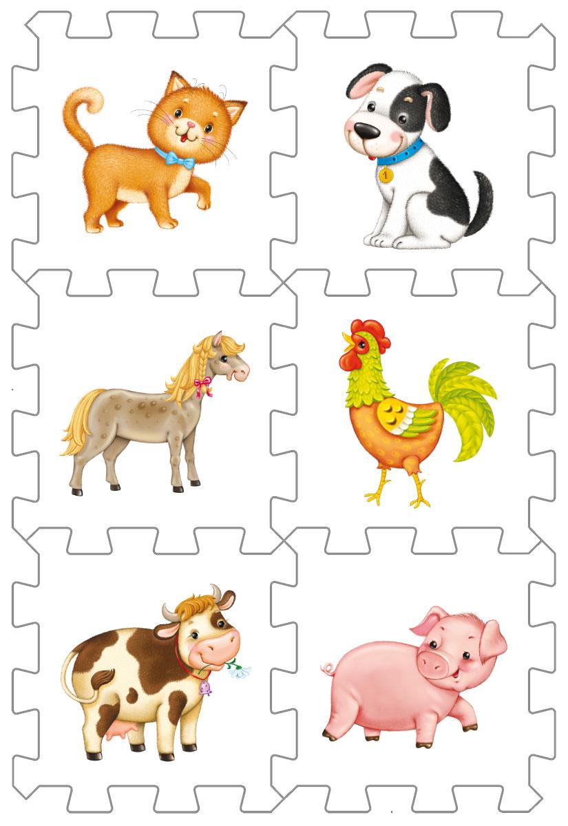 Робинс Пазл Кубик Домашние животные4607058376567Набор состоит из 6 больших деталей-пазлов, которые можно собрать в объёмный кубик. Собирая кубик и играя с этими деталями-пазлами, малыши тренируют мелкую моторику, развивают мышление, память, внимание, а также получают навыки творческого конструирования. Детали-пазлы сделаны из экологически чистого и гипоаллергенного мате- риала ЭВА (EVA), который не имеет цвета, запаха и вкуса, а значит, идеально подходит для первых развивающих игрушек и игр для самых маленьких детей. В чём его особенности: • детали-пазлы можно грызть, мять, гнуть, сжимать и мочить, и при этом они не испортятся; • с набором можно играть в ванной, детали плавают в воде и легко крепятся к кафелю и стенкам ванной; • уникальная технология печати картинок на пазлах передаёт все оттенки цветов, и дети быстрее учатся узнавать нарисованные на них предметы в окружающем мире; • набор идеально подходит для развития детской моторики, сенсорики, навыков конструирования; • детали-пазлы из разных наборов подходят к друг другу,...