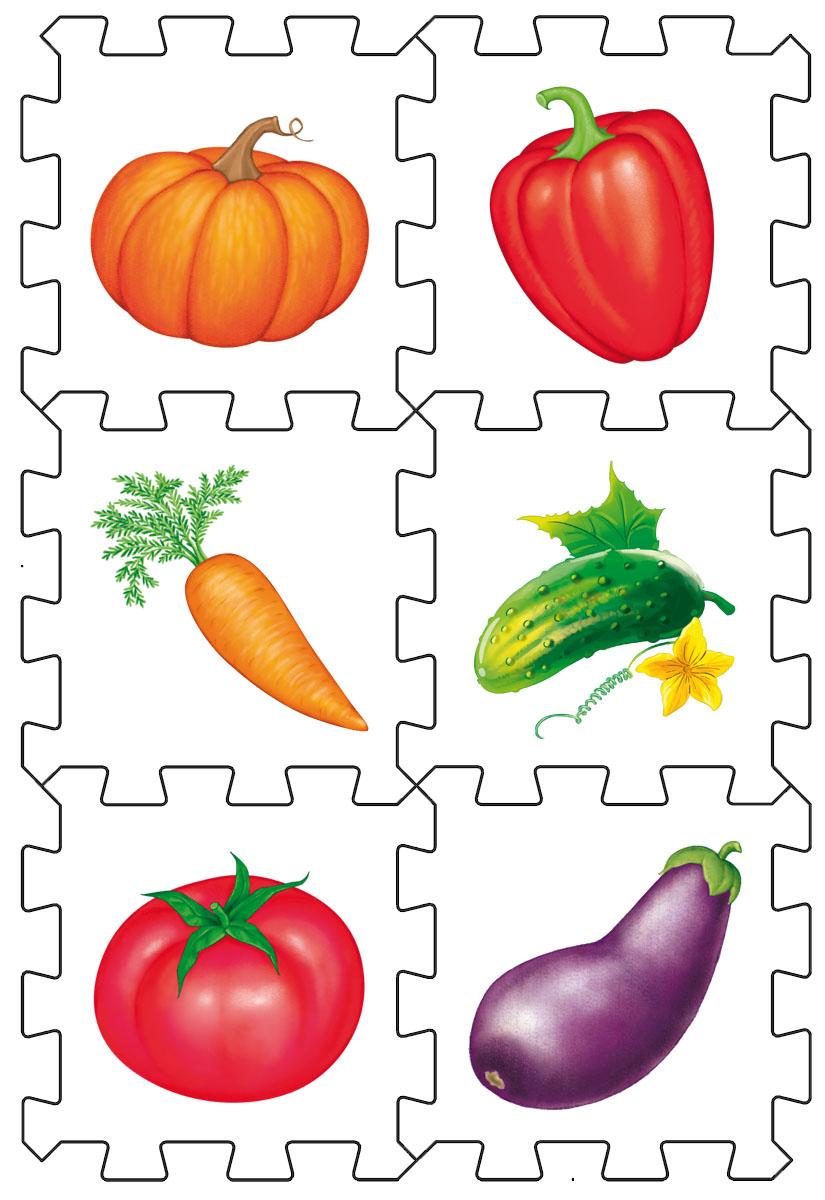 Робинс Пазл Кубик Овощи4607058376604Набор состоит из 6 больших деталей-пазлов, которые можно собрать в объёмный кубик. Собирая кубик и играя с этими деталями-пазлами, малыши тренируют мелкую моторику, развивают мышление, память, внимание, а также получают навыки творческого конструирования. Детали-пазлы сделаны из экологически чистого и гипоаллергенного материала ЭВА (EVA), который не имеет цвета, запаха и вкуса, а значит, идеально подходит для первых развивающих игрушек и игр для самых маленьких детей. В чём его особенности: • детали-пазлы можно грызть, мять, гнуть, сжимать и мочить, и при этом они не испортятся; • с набором можно играть в ванной, детали плавают в воде и легко крепятся к кафелю и стенкам ванной; • уникальная технология печати картинок на пазлах передаёт все оттенки цветов, и дети быстрее учатся узнавать нарисованные на них предметы в окружающем мире; • набор идеально подходит для развития детской моторики, сенсорики, навыков конструирования; • детали-пазлы из разных наборов подходят к друг другу, вы...