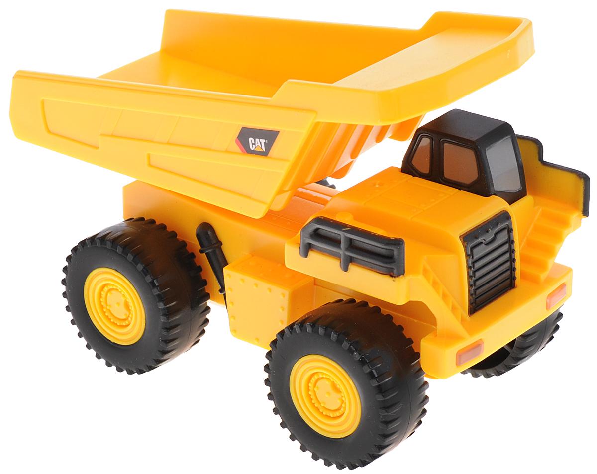 Toystate Карьерный грузовик Cat34696TS_Карьерный грузовикКарьерный грузовик Toystate Cat обязательно привлечет внимание вашего ребенка. Выполнен из прочного пластика черного и желтого цветов. Имеет звуковые и световые эффекты. Малыш проведет с этой игрушкой много увлекательных часов! Порадуйте вашего малыша такой машинкой! Рекомендуется докупить 2 батарейки типа LR44 (товар комплектуется демонстрационными).