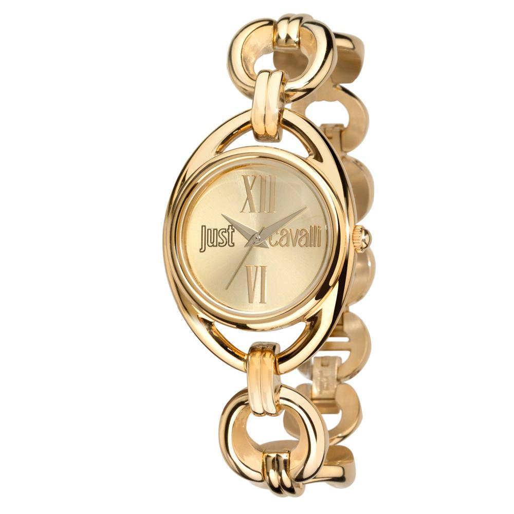 Часы наручные женские Just Cavalli Drop, цвет: золотой. R7253182501R7253182501