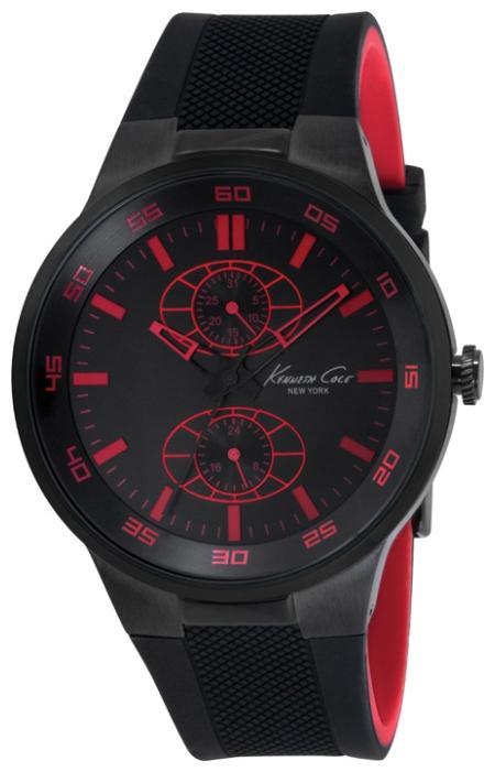Часы мужские наручные Kenneth Cole Dress Sport, цвет: черный. IKC8033IKC8033Часы наручные Kenneth Cole IKC8033 Водостойкость: 30м (3 АТМ)
