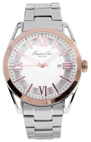 Часы мужские наручные Kenneth Cole Classic, цвет: серебристый. IKC9373IKC9373Часы наручные Kenneth Cole IKC9373 Водостойкость: 30м (3 АТМ)