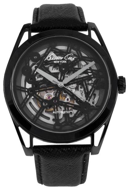 Часы мужские наручные Kenneth Cole Automatics, цвет: черный. IKC8083IKC8083Часы наручные Kenneth Cole IKC8083 Водостойкость: 30м (3 АТМ)