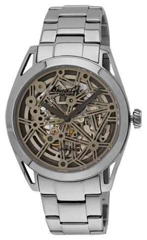 Часы мужские наручные Kenneth Cole Automatics, цвет: серебристый. IKC9376IKC9376Часы наручные Kenneth Cole IKC9376 Водостойкость: 30м (3 АТМ)