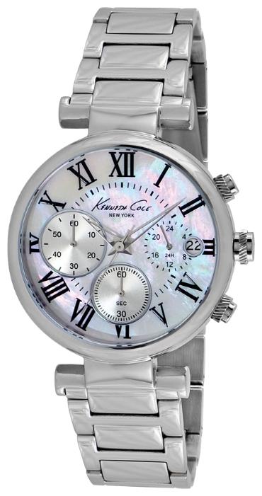Часы женские наручные Kenneth Cole Dress Sport, цвет: серебристый. IKC4971IKC4971Часы наручные Kenneth Cole IKC4971 Водостойкость: 30м (3 АТМ)