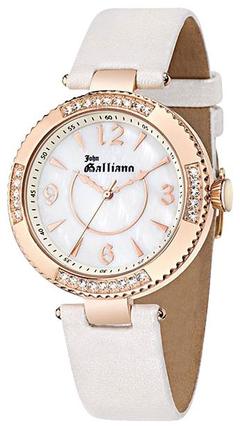 Часы женские наручные Galliano The Refined, цвет: белый. R2553123504R2553123504Часы наручные Galliano R2553123504 Водостойкость: 30м (3 АТМ)