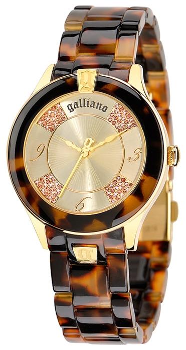 Часы женские наручные Galliano Pictural, цвет: коричневый. R2553108501R2553108501Часы наручные Galliano R2553108501 Водостойкость: 30м (3 АТМ)