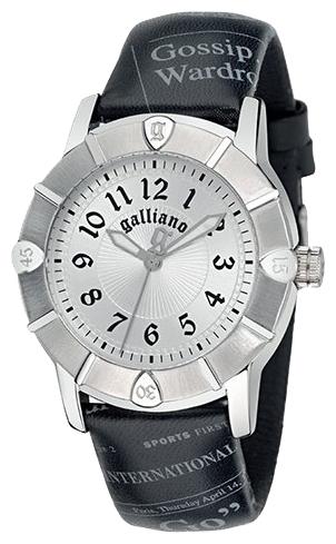 Часы женские наручные Galliano Parlez-Moi dEternite, цвет: черный. R2551101005R2551101005Часы наручные Galliano R2551101005 Водостойкость: 30м (3 АТМ)
